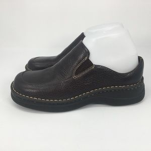 Born Womens Size 8 M Dark Brown Leather Slip On